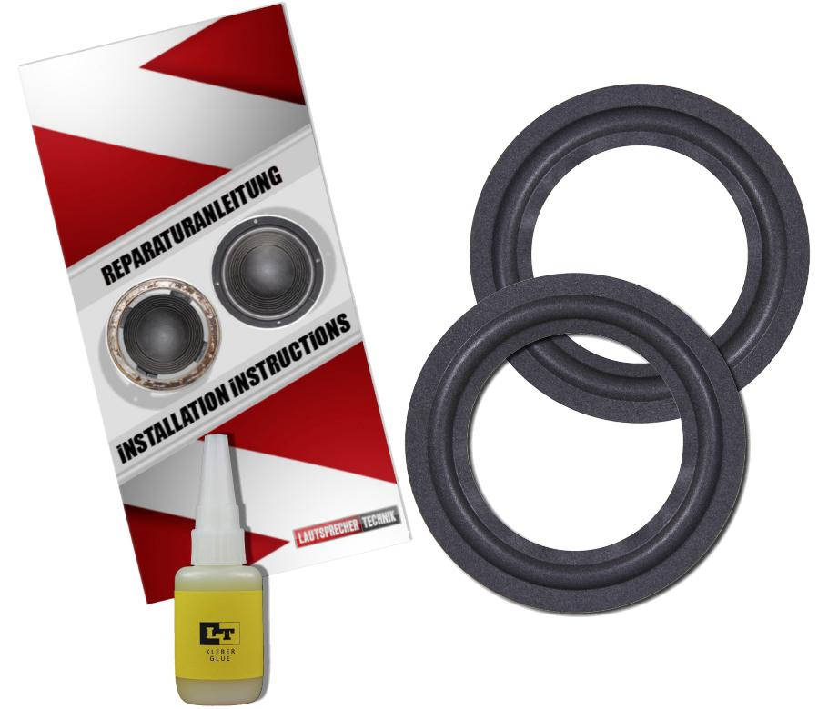 Kef B110 Speaker Surround Re-Foam Repair Kit