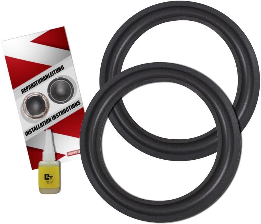 Lautsprecher Technik - Sony SS-E610 Lautsprecher Sicken Reparatur Set