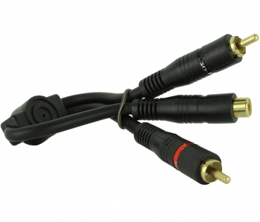 Dynavox RCA Y Adapter 2 RCA Male To 1 RCA Female
