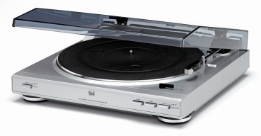 Dual CS 410 Fully Automatic Turntable Silver