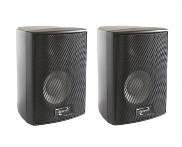 Dynavox AS 301 Satellite Speaker Pair Black