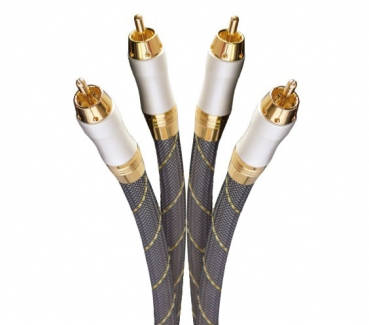 Dynavox High End Audio RCA Cable 2x 9 ft.