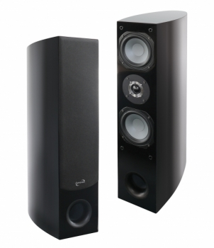 Dynavox LS 120BP Tower Speaker High Gloss Black