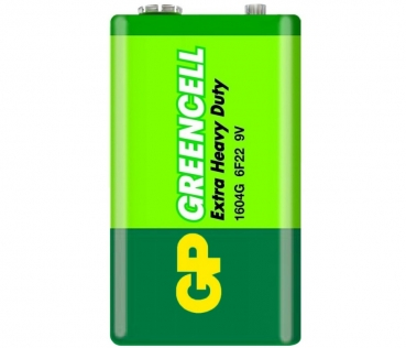 GP Greencell 9 Volt Battery