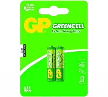 GP Greencell AAA Battery 2-Pack