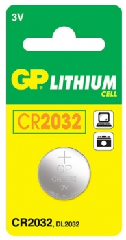 GP CR2032 Lithium Coin Cell Battery 3 V