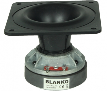 Rockwood PT25B-1 Super Tweeter, 80° Conical Horn, 100 W, 4 Ohms