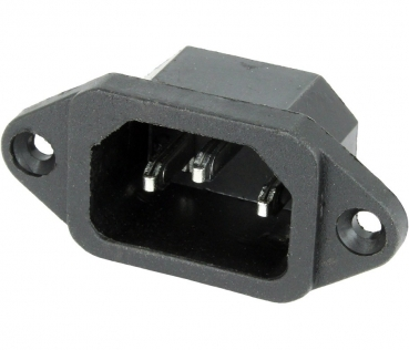IEC Power Jack Chassis Mount C14
