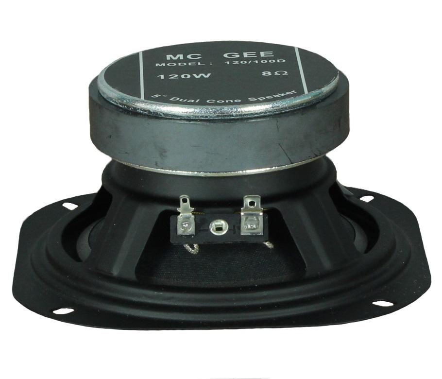 Lautsprecherabdeckung; 100mm; Metall 1 sat